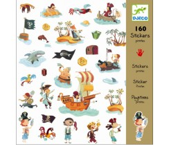 Stickers - Piratas - 160 u.