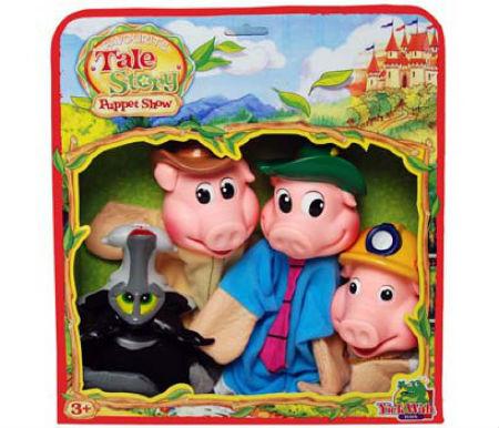 juego de los tres cerditos