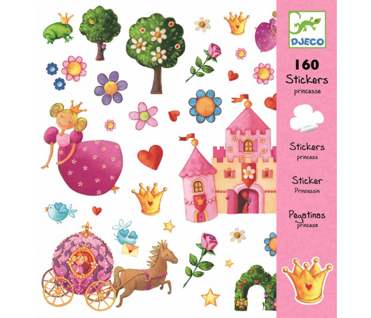 Stickers de princesas