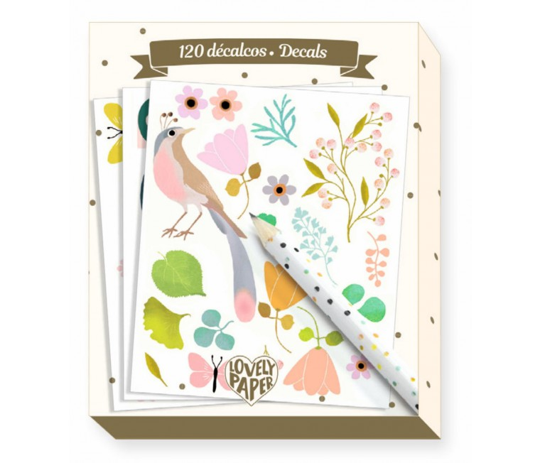 Lovely Paper - 120 Calcomanias Elodie