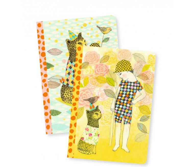 Lovely Paper - 2 Libretas A6 Elodie