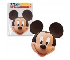 Mascara de Papel Mickey - 12 uni.