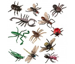 Animales insectos - 12 uds.