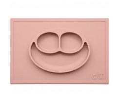 Plato de Silicona The Happy Mat - Blush