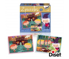 Puzzle Cuento Casita de Chocolate