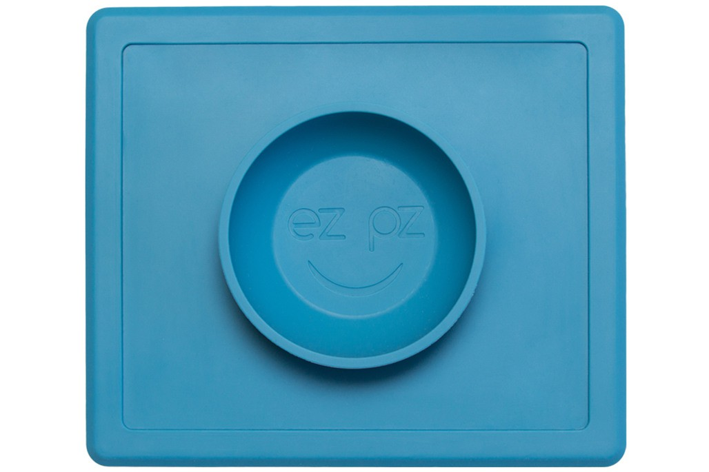 Cuenco de Silicona The Happy Bowl - Azul