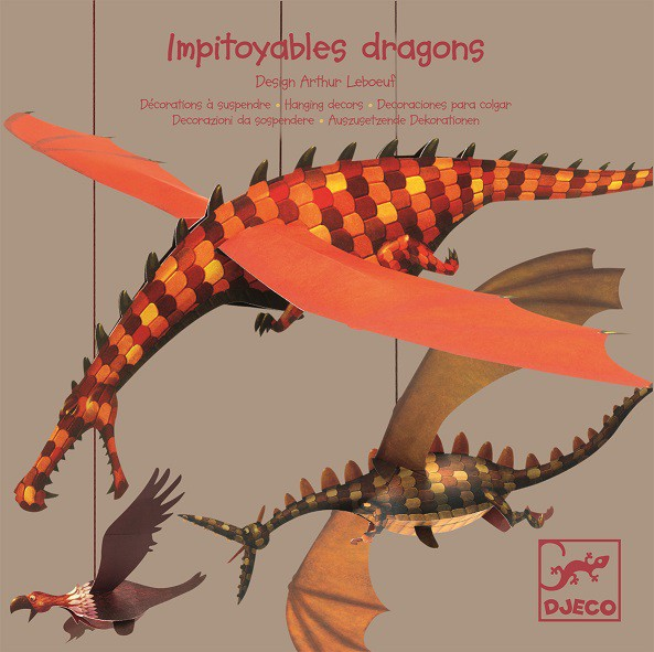 Dragones decorativos