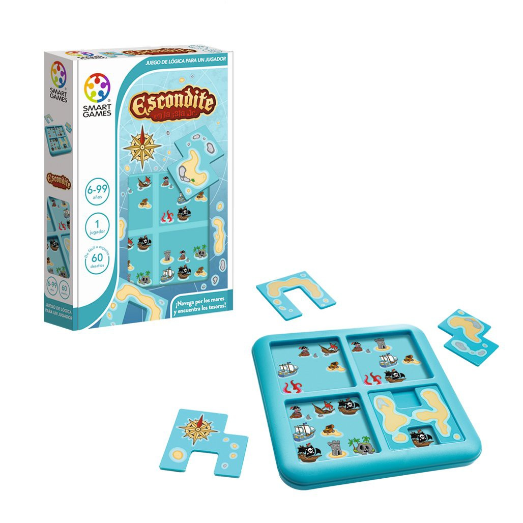 Escondite en la Isla Jr. -Smart Games