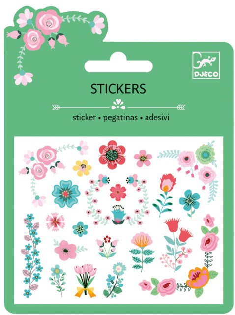 25 Stickers - Flores