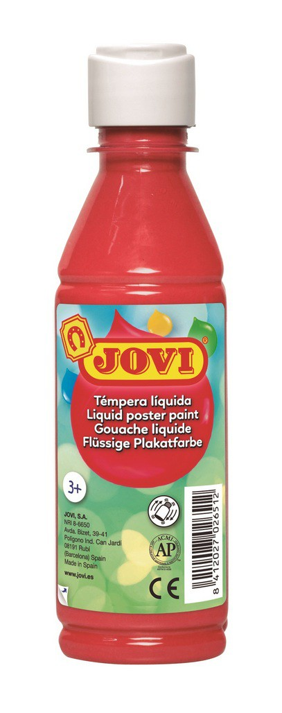 Témpera líquida 250 ml - Rojo