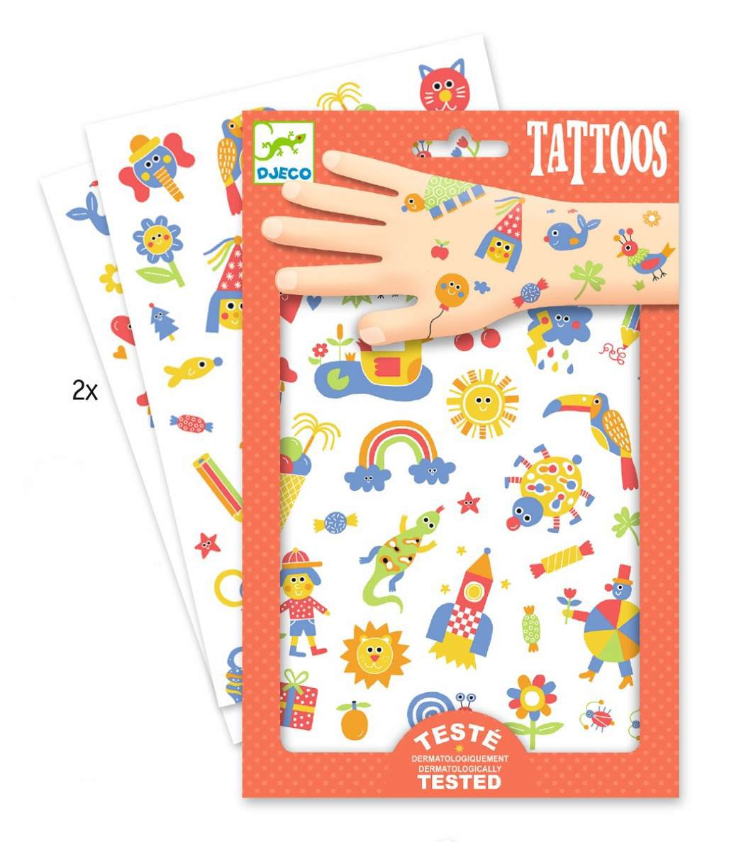 Tatuajes infantiles Djeco -So Cute-