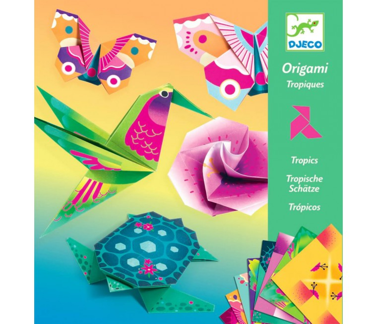 Papiroflèxia - Origami animals tropicals