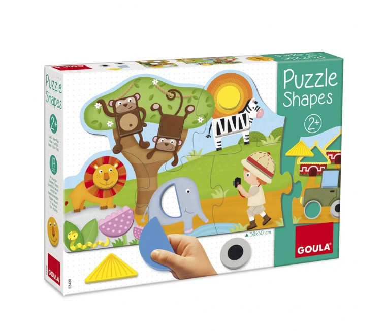 Puzle Shapes - 6 pcs.