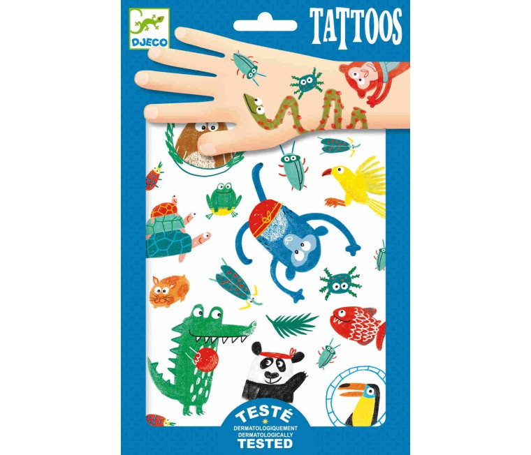 Tatuatges Animals Infantils