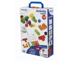 Activity Cubes - 100 pzs Miniland