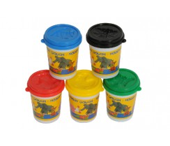 Plastilina de colors - 140 gr.