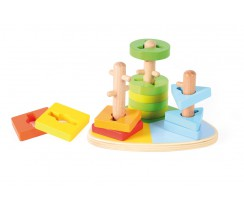 Triangle Stacker Andreu Toys
