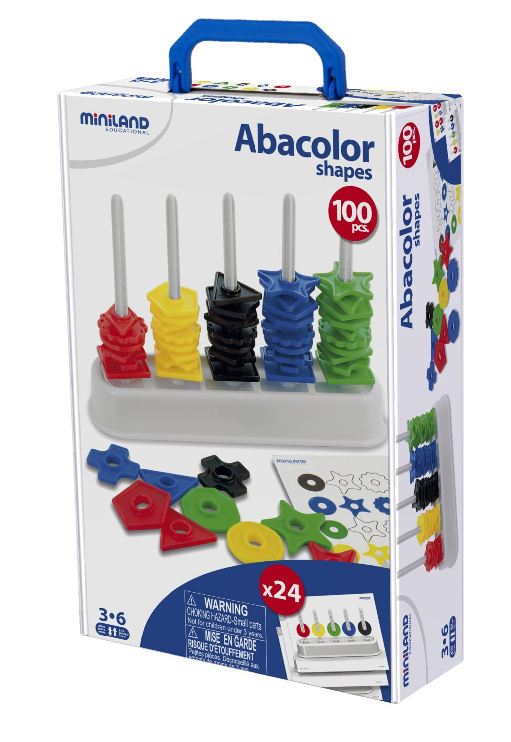Abacolor 100 Formes + 12 Activitats