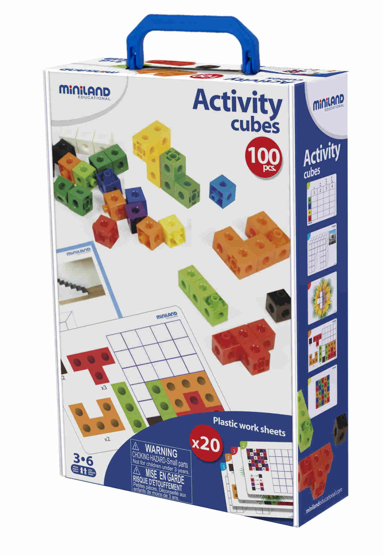 Activity Cubes - 100 pcs