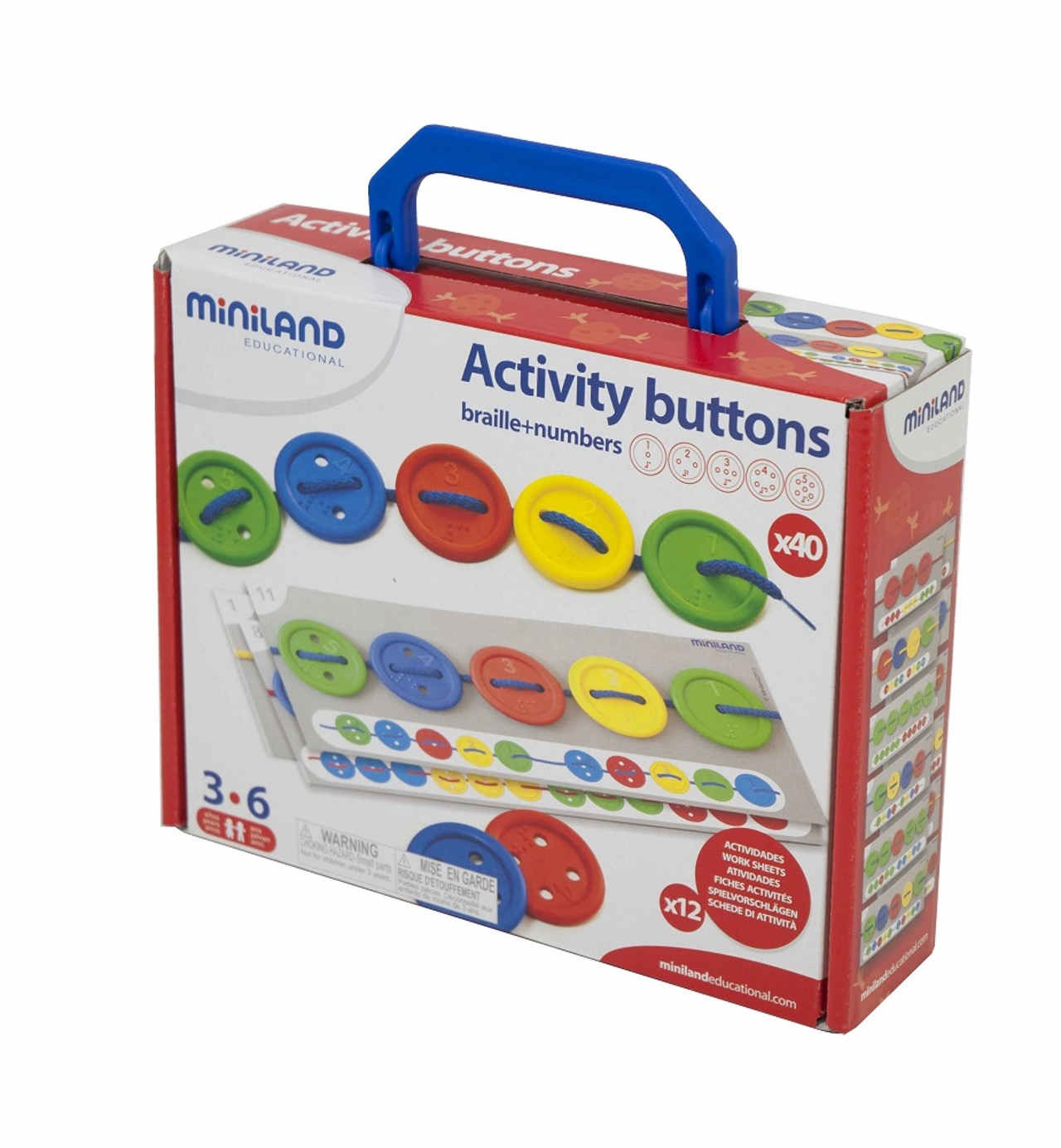 Activity Buttons - 40 pcs