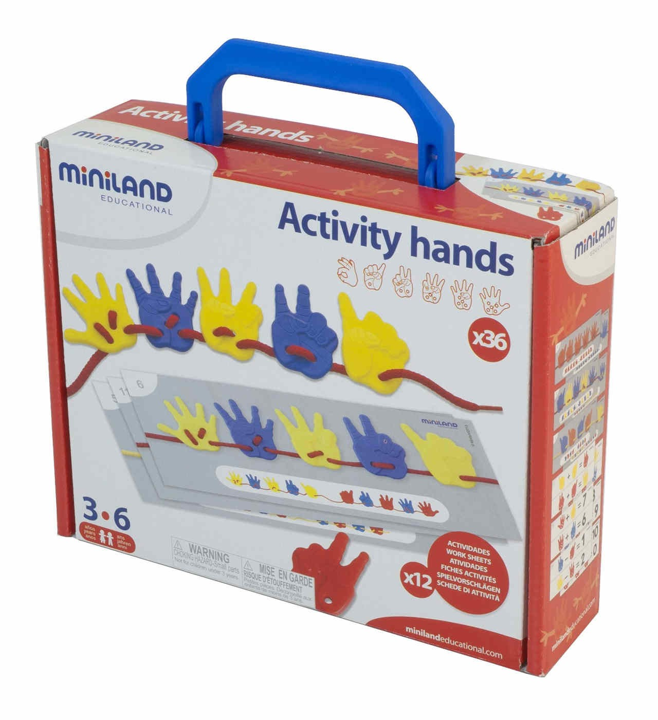 Activity Hands - Joc d'Enfilar