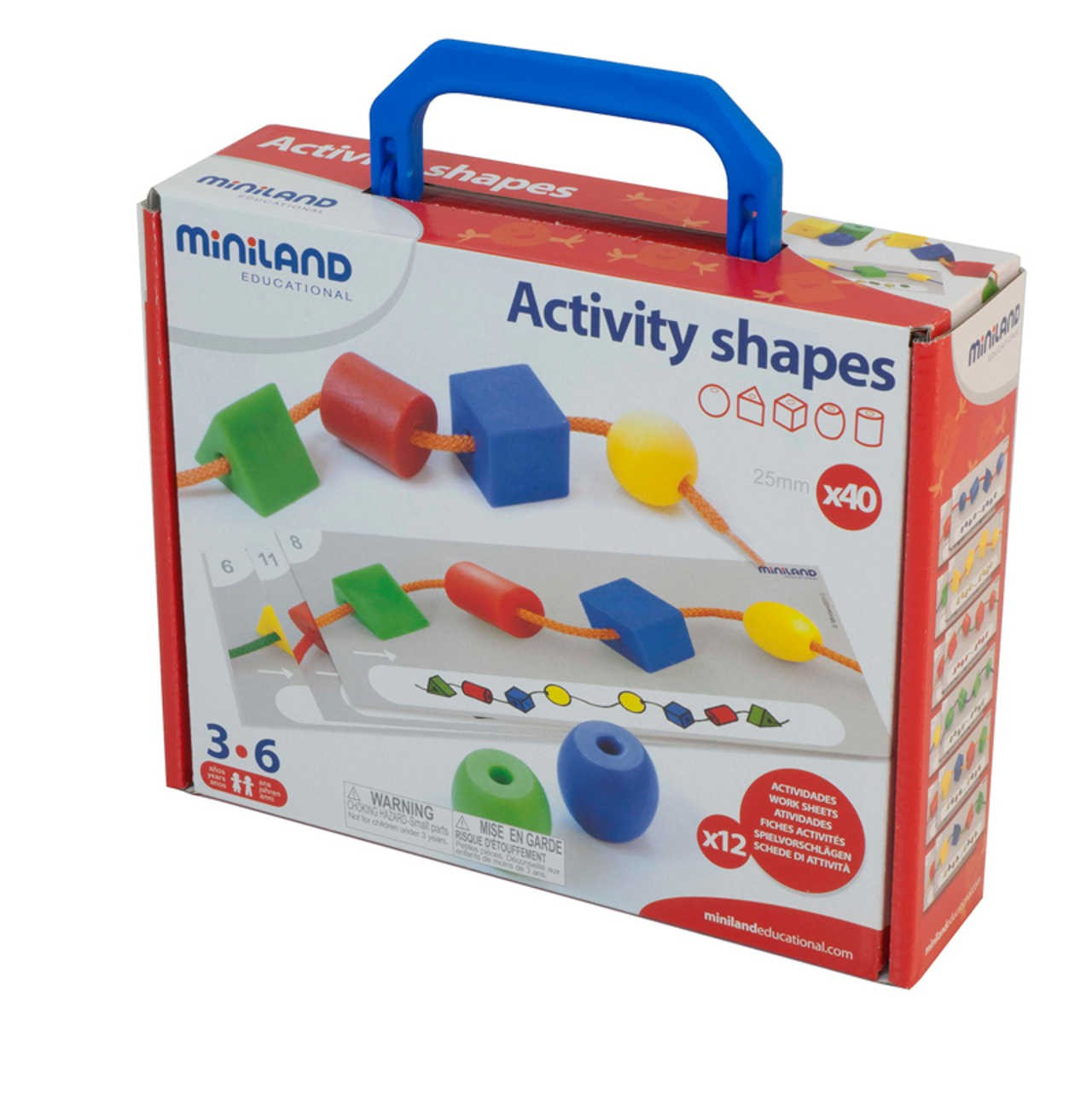 Activity Shapes - Joc d'Enfilar