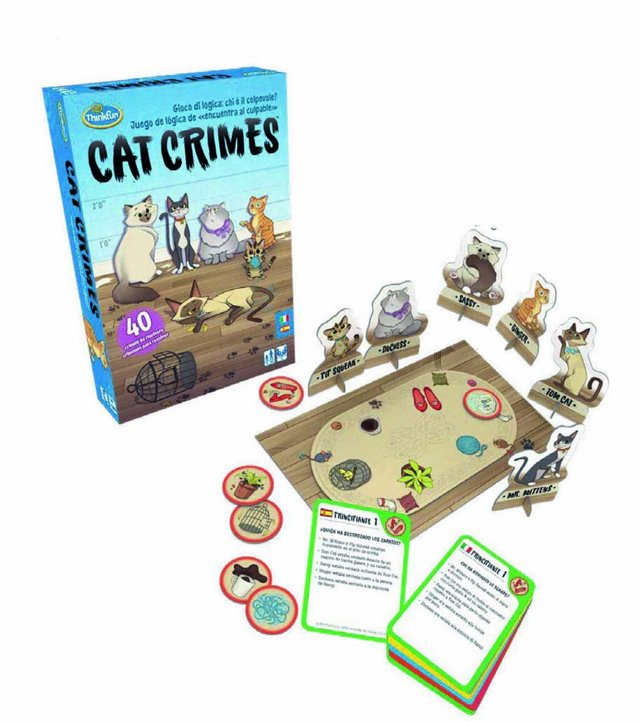 Cat Crimes - Joc de taula