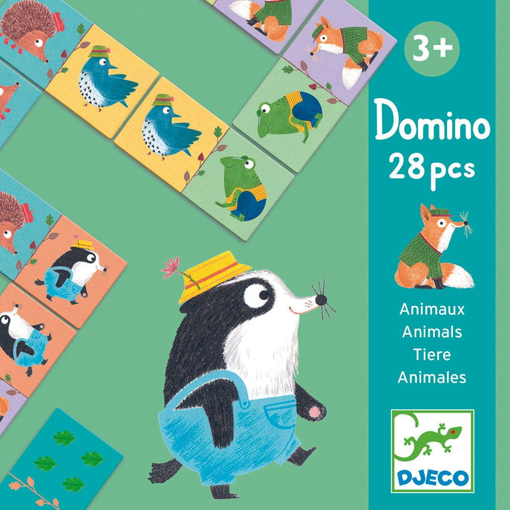 Dòmino d'animals - 28 pcs.