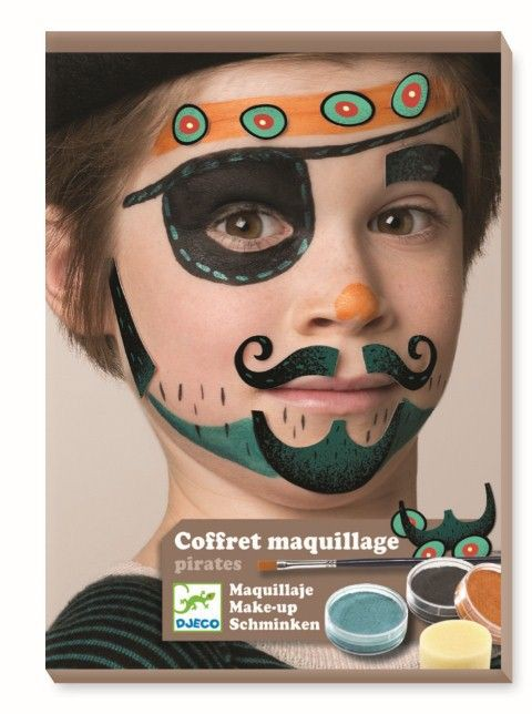 Kit de maquillatge natural -Pirata-