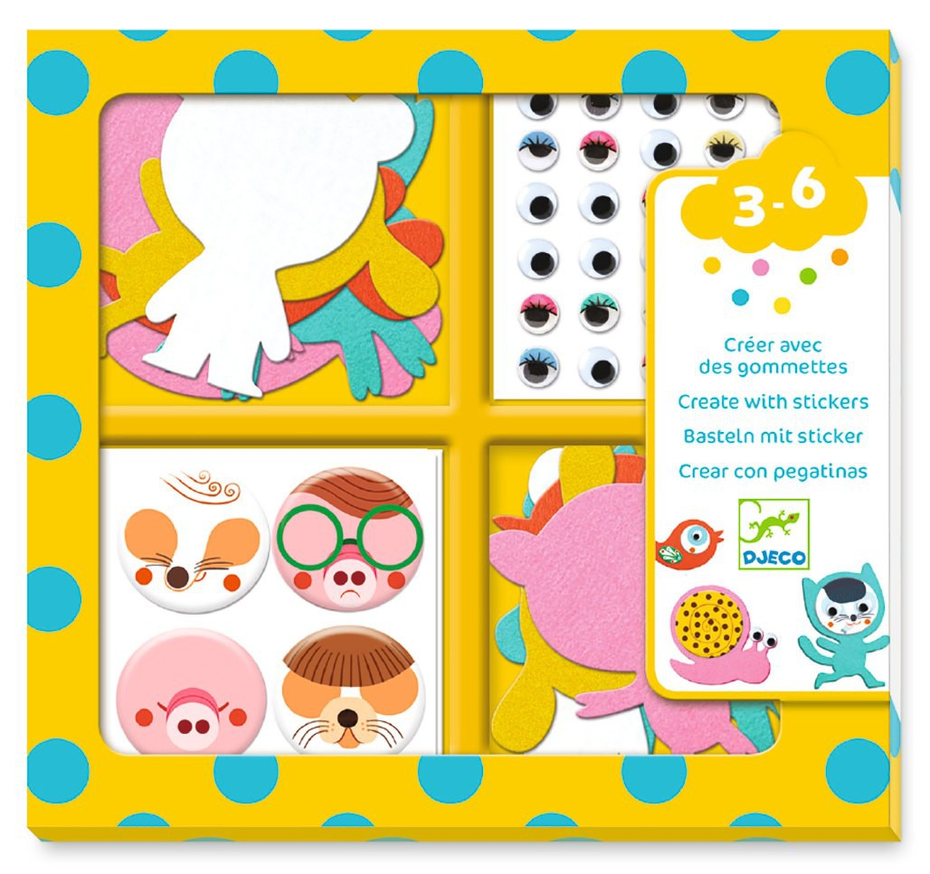 Crea amb Stickers - Animals