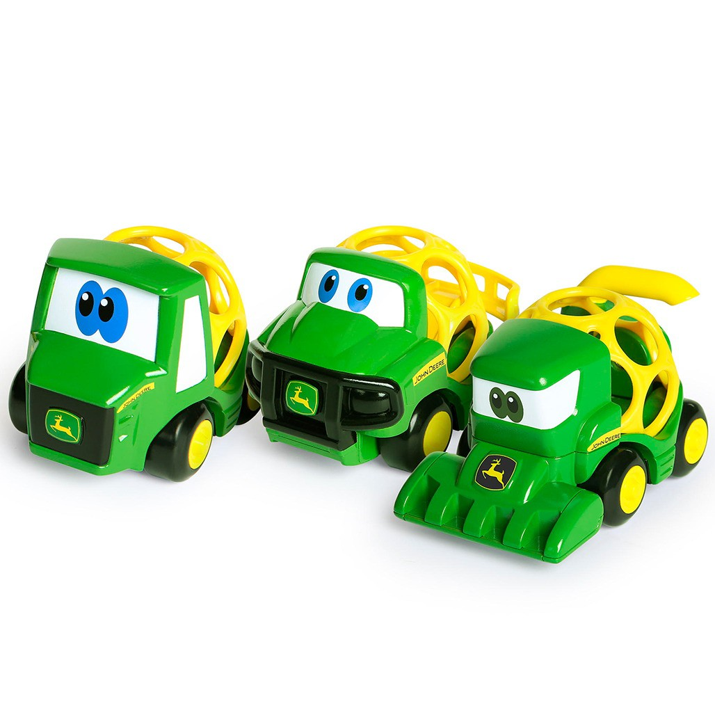 Oball - Set de 3 vehicles de la granja