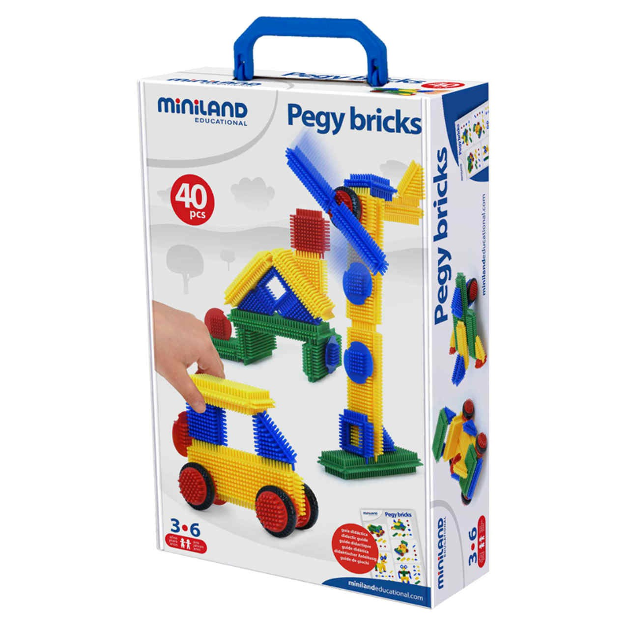 Pegy Bricks - 40 pcs