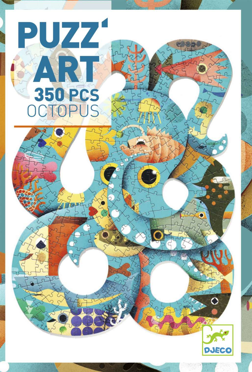 Puzle Art Octopus - 350 pcs.
