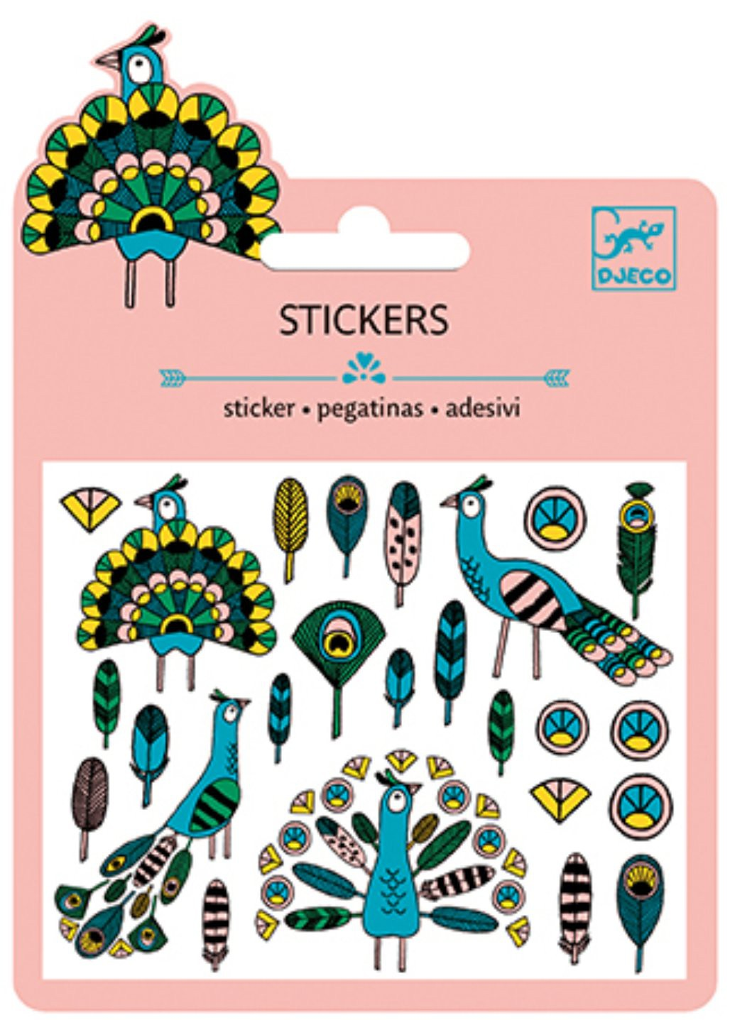 25 Stickers - Plomes y Paons
