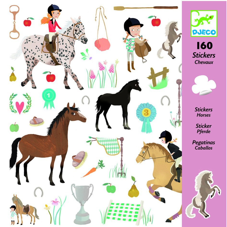 Stickers Cavalls - 160 pcs