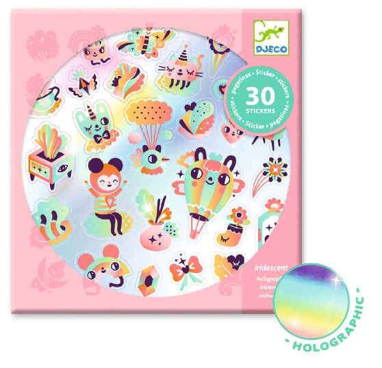 Stickers hologràfics - Lovely Rainbow 30 uni.