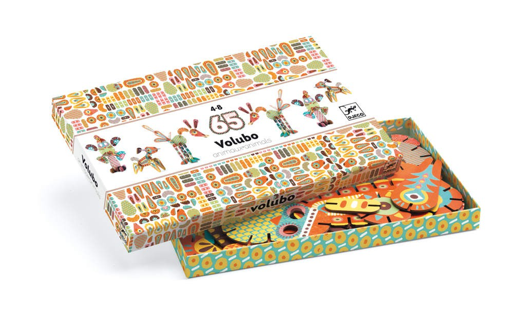Volubo Animals - Construcció 65 pcs.